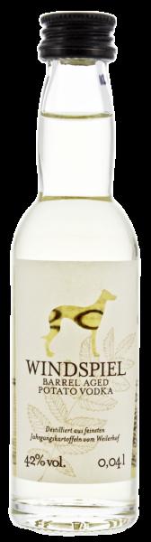 Windspiel Barrel Aged Potato Vodka Miniatur 0,04L 42%