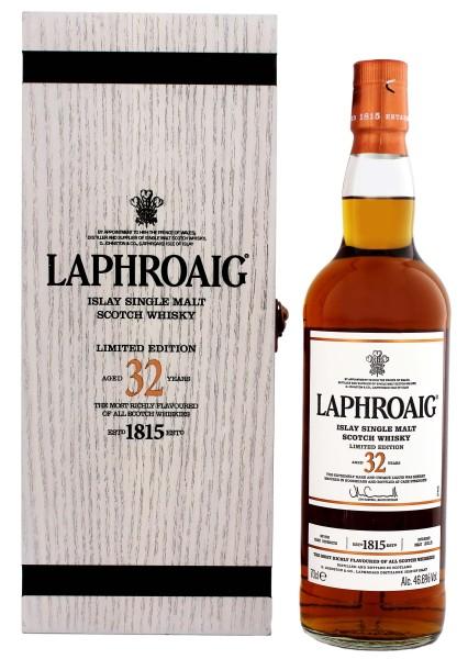 Laphroaig Single Malt Whisky 32 Jahre 0,7L 46,6%