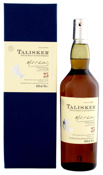 Talisker Single Malt Whisky 25 Years Old 0,7L 45,8%