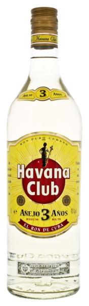 Havana Club Rum Anejo 3 Years Old 1,0L 40%
