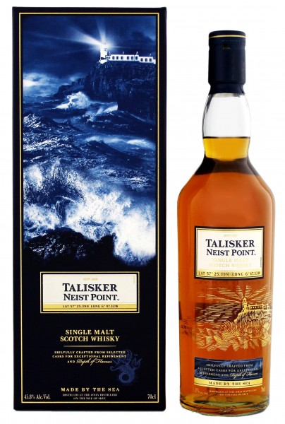 Talisker Single Malt Whisky Neist Point, 0,7L 45,8%