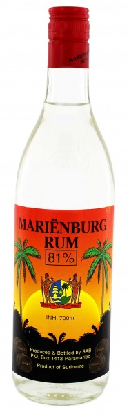Marienburg Overproof Rum 0,7L 81%
