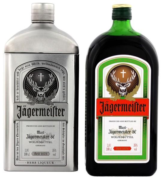 Jägermeister Liqueur in Gifttin, 1 L, 35%