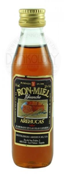 Arehucas Guanche Honey Miniatur 0,05L 20%