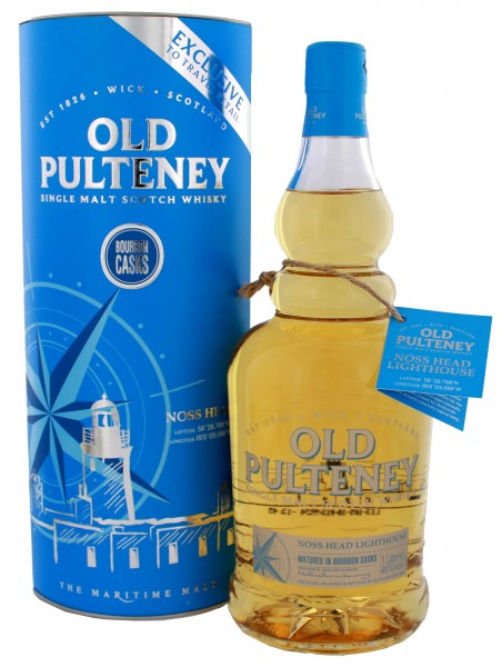 Old Pulteney Single Malt Whisky Noss Head Bourbon Cask