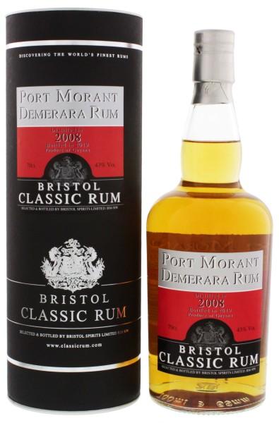 Bristol Rum Port Morant Demerara Guyana 2008/2019 0,7L 43%