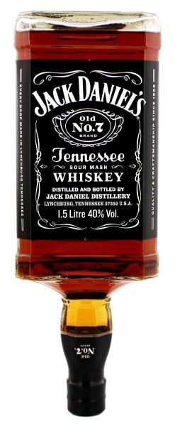 Jack Daniels Black Tennessee Whiskey Old Nr. 7, 1,5 L