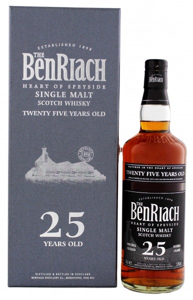 BenRiach Single Malt Whisky 25 Years Old 0,7L 50%