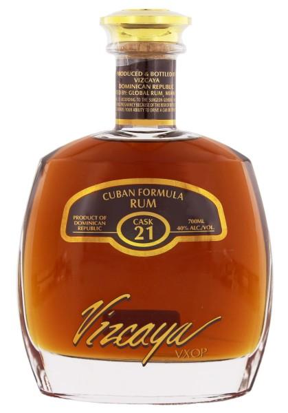 Vizcaya Rum Cask No. 21 VXOP 0,7L 40%