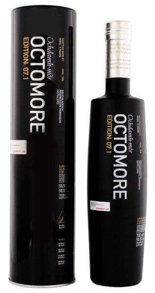 Octomore 7.1 Ochdamh-mòr Scottish Barley 0,7L 59,5%