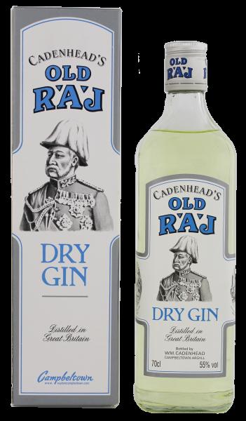 Cadenheads Old Raj Dry Gin 0,7L 55%