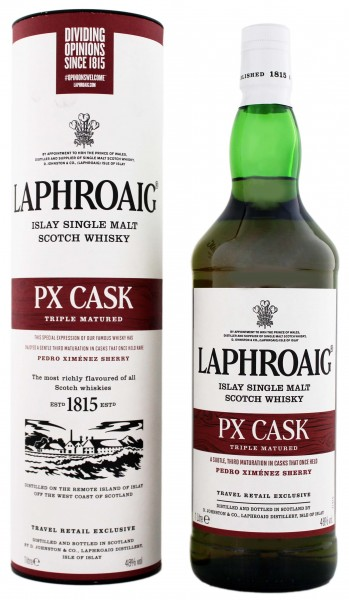 Laphroaig Single Malt Whisky PX Cask