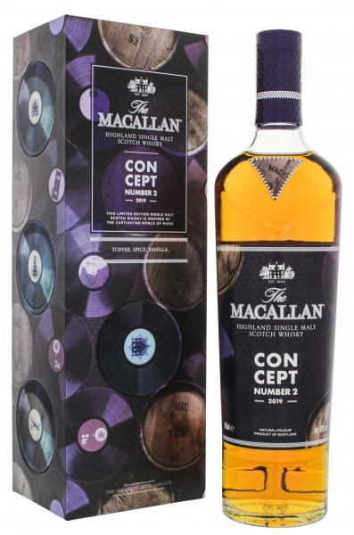 Macallan Single Malt Whisky Concept Number 2 2019 0,7L 40%
