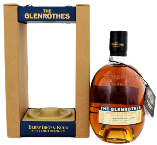 The Glenrothes Single Malt Whisky Ministers Reserve, 0,7 L, 43%