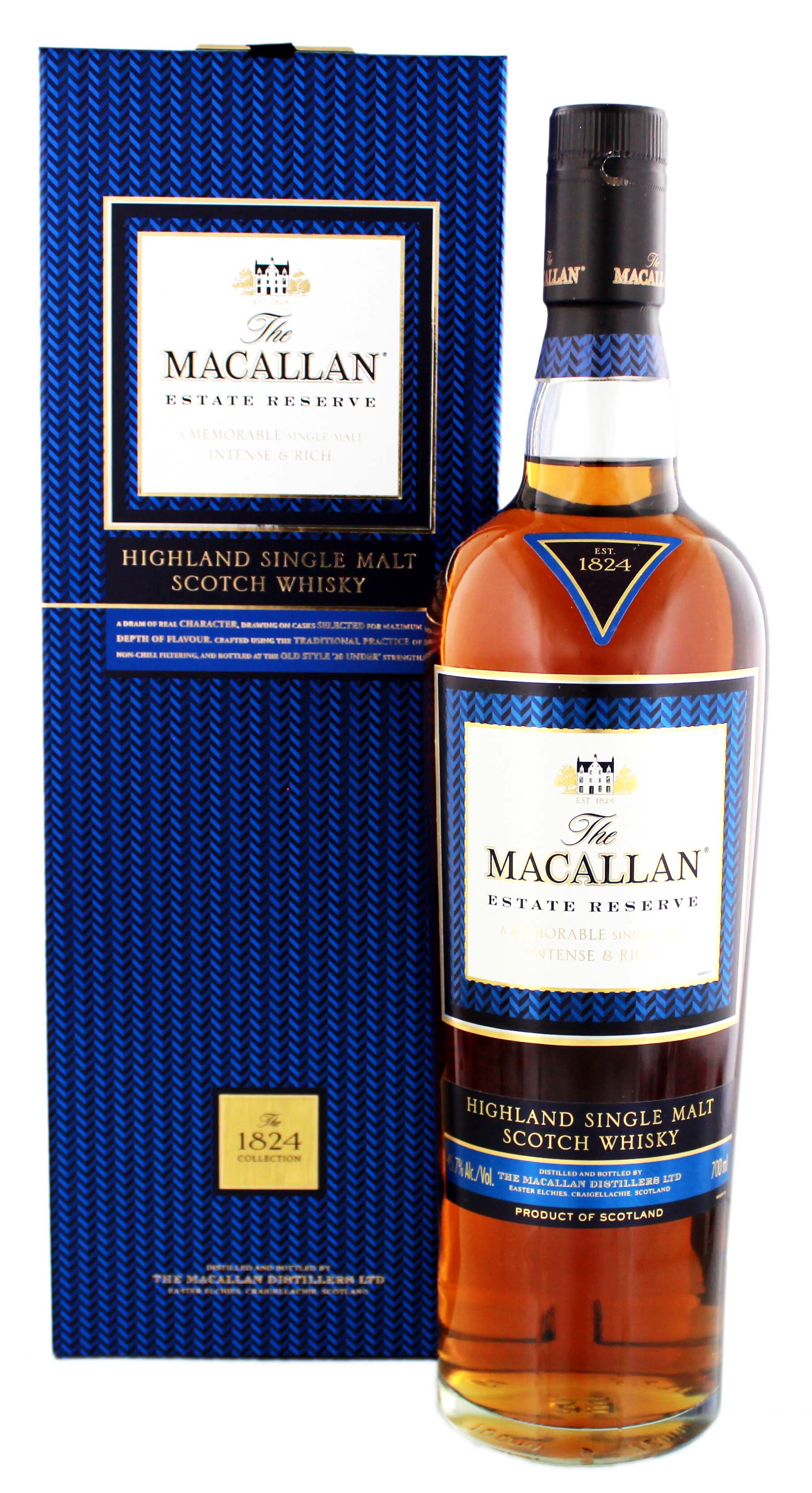 Macallan Single Malt Whisky Estate Reserve 0,7L 45,7%