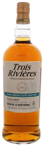 Trois Rivieres Rhum Agricole Ambre 1,0L 40%