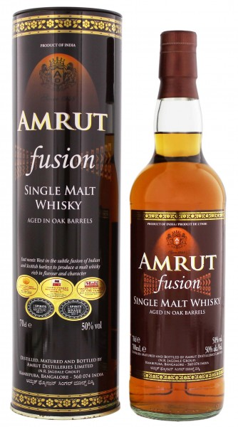 Amrut Fusion Single Malt Whisky 0,7L 50%