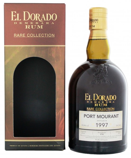 El Dorado Rum Rare Collection Port Mourant 1997 0,7L 57,9%