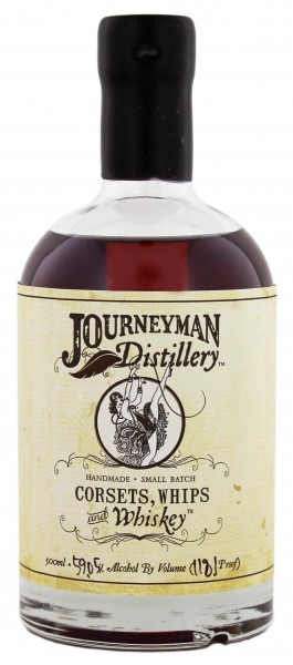 Journeyman Corsets, Whips & Whiskey 0,5L