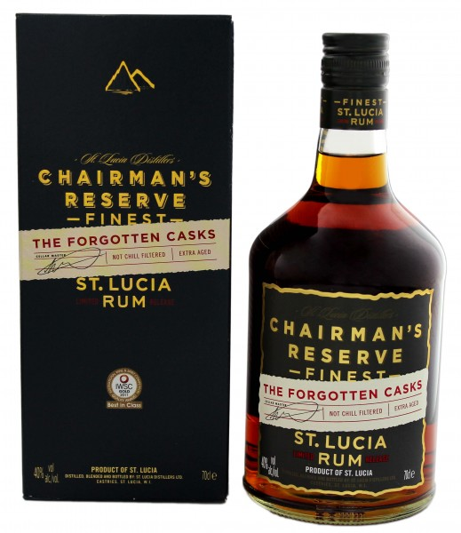 Chairman's Reserve Rum The Forgotten Casks