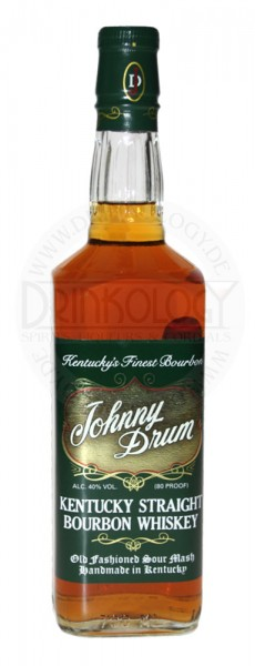 Johnny Drum Bourbon Whiskey Green Label 0,7L 40%