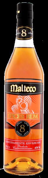 Malteco Spices and Rum 8 Jahre, 0,7 L 40%