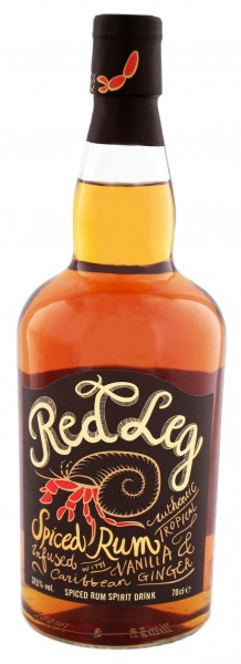RedLeg Spiced 0,7L 37,5%