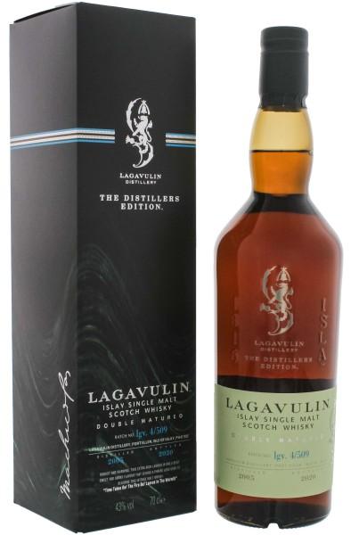Lagavulin Distillers Edition 2005/2020 Single Malt Whisky 0,7L 43%