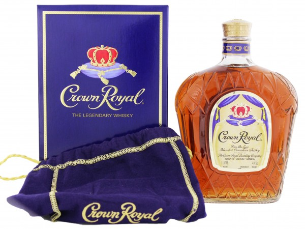 Crown Royal Canadian Whisky, 1 L, 40%
