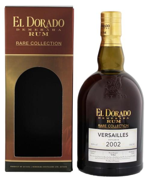 El Dorado Rum Rare Collection Versailles 2002/2015