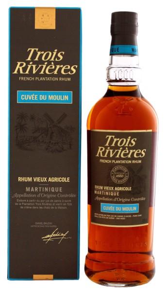Trois Rivieres Rhum Vieux Agricole Cuvee du Moulin 0,7L 40%