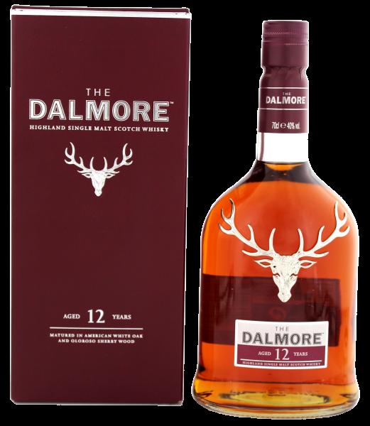 The Dalmore Single Malt Whisky 12 Jahre, 0,7 L, 40%