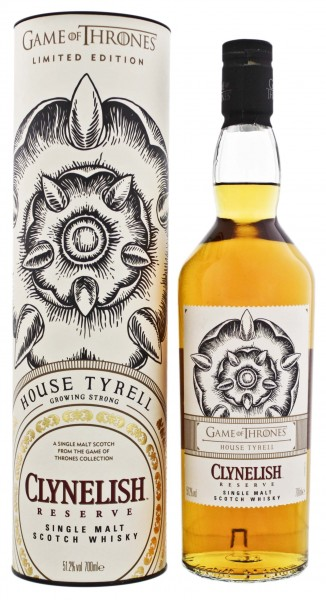 Clynelish Reserve Single Malt Whisky Game of Thrones House Tyrell 0,7L 51,2%