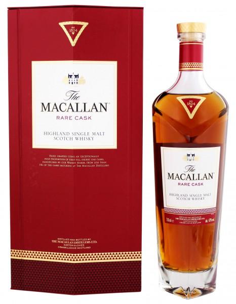 Macallan Single Malt Whisky Rare Cask