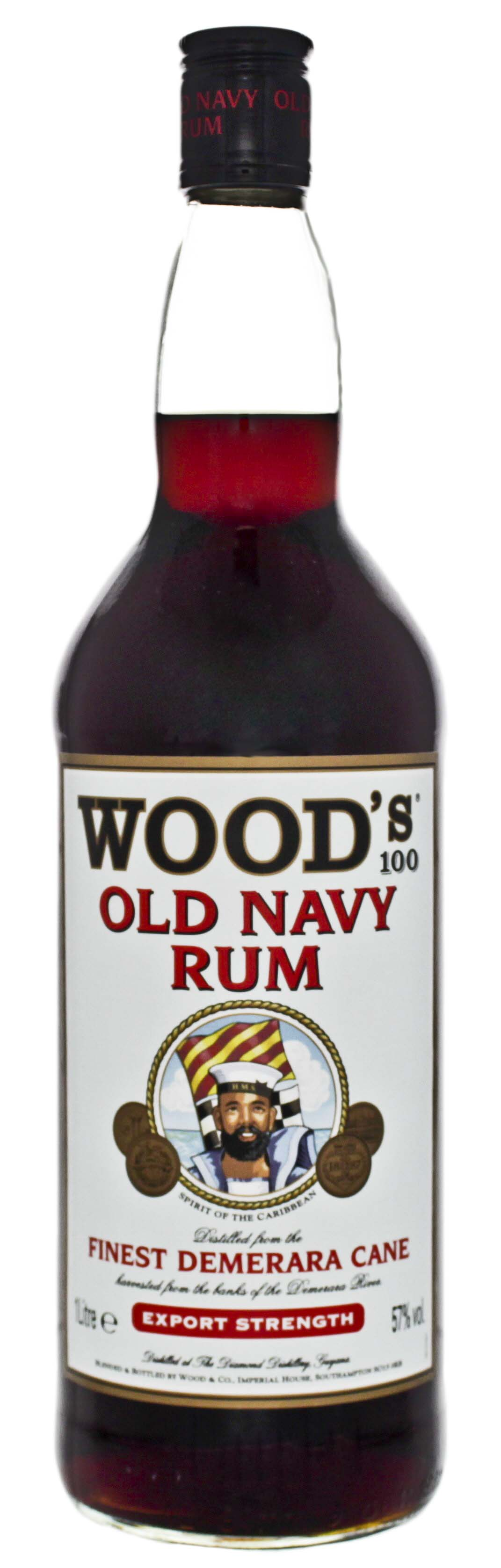 Woods Old Navy Rum 1,0L 57%