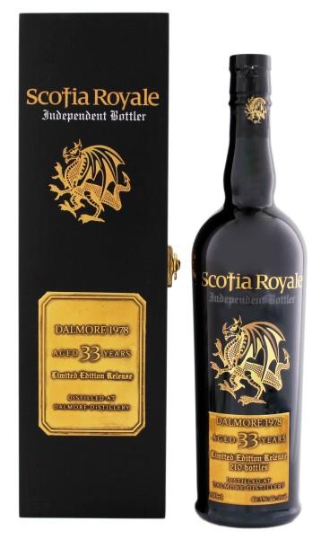 Scotia Royale Dalmore 33YO 1978 Limited Edition 0,7L 40,5%