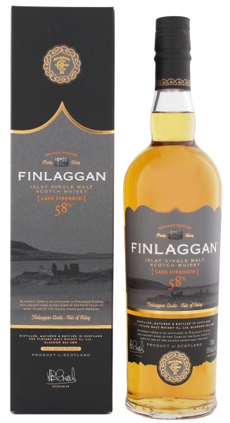 Finlaggan Single Malt Whisky Old Reserve Cask Strength, 0,7 L, 58%