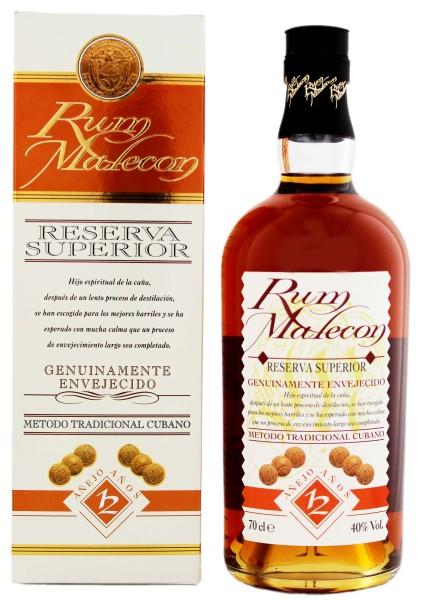 Malecon Rum Reserva Superior 12 Jahre, 0,7 L, 40%