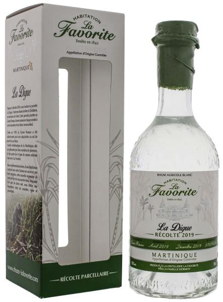 La Favorite Rhum Agricole Blanc La Digue 2019 0,7L 52%