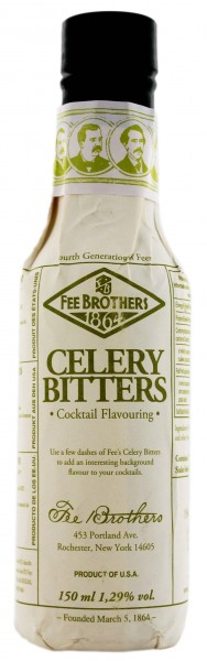 Fee Brothers Celery Bitters, 0,15 L