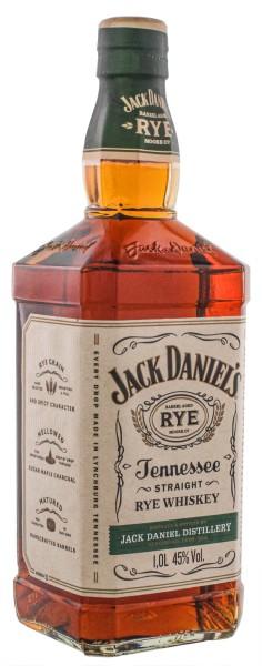 Jack Daniels Straight Rye Tennessee Whiskey 1,0L 45%