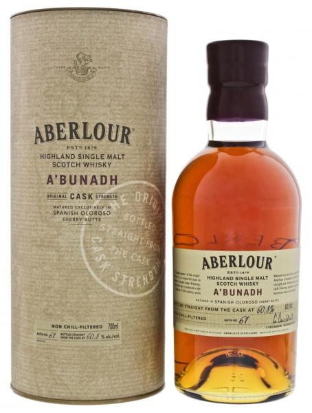 Aberlour A'Bunadh Single Malt Whisky Batch 61, 0,7L 60,8%