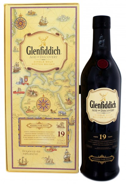 Glenfiddich Age of Discovery Malt Whisky 19 Years Old Madeira