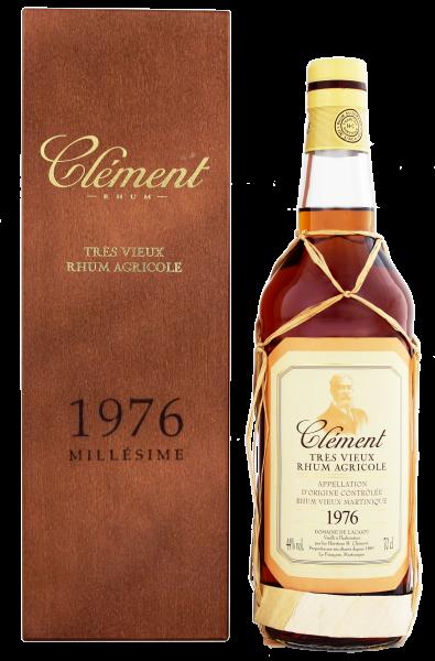 Clement Rhum Vieux Vintage 1976, 0,7 L, 44%