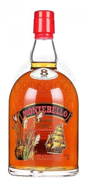 Montebello Rhum Vieux 8 Years Old 0,7L 42%