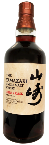 Yamazaki Sherry Cask Single Malt Whisky Edition 2016 0.7L 48%