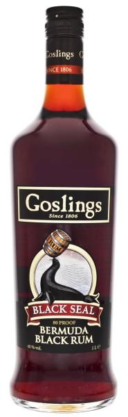 Gosling Black Seal Dark Bermuda Rum 1,0L 40%