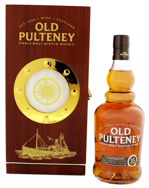 Old Pulteney 35YO Malt Whisky 0,7L 42,5%
