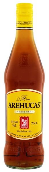 Arehucas Rum Dorado 1 Jahr, 0,7 L, 37,5%