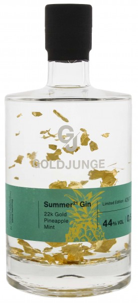 Goldjunge Summer 21 Gin Pineapple Mint 0,5L 44%